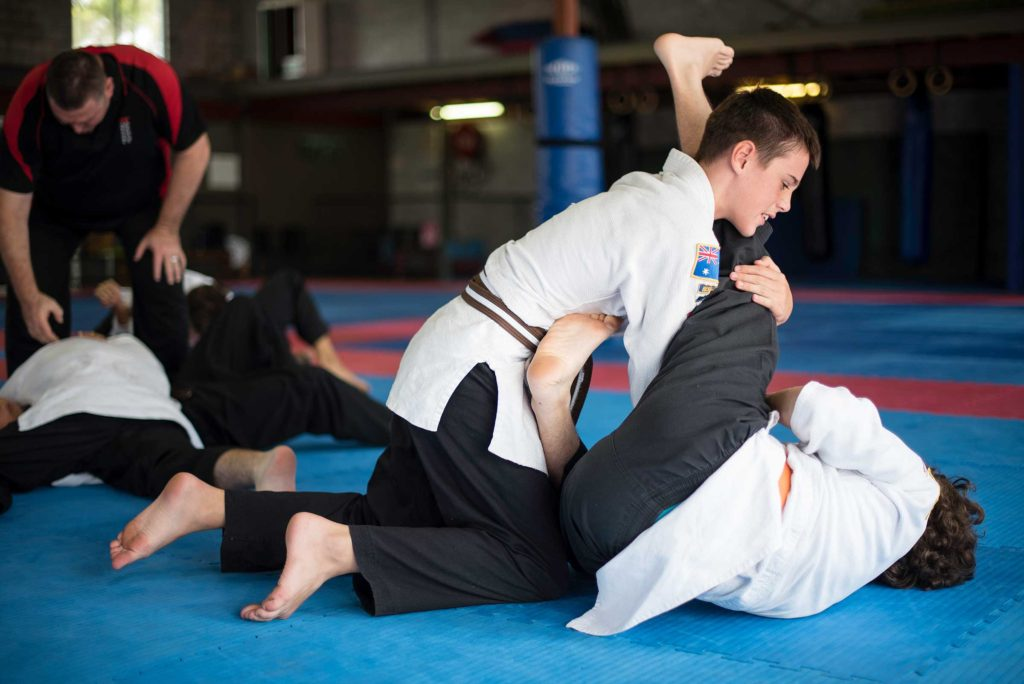 Jujitsu Grappling - South East Self Defence