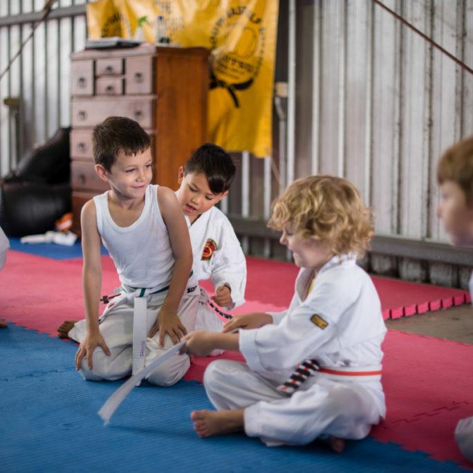 Jujitsu Kids Mat Time - South East Self Defence